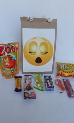 Party Buckets in the East Rand personalized party packs filled with quality sweets brown paper party bags025