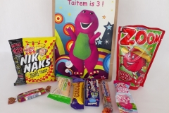 Party Buckets in the East Rand personalized party packs filled with quality sweets brown paper party bags001