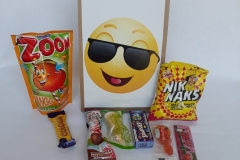 Party Buckets in the East Rand personalized party packs filled with quality sweets brown paper party bags024