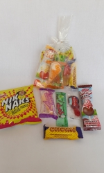 Party Buckets in the East Rand personalized party packs filled with quality sweets clear party packs001