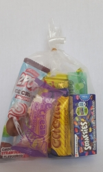 Party Buckets in the East Rand personalized party packs filled with quality sweets clear party packs006