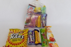 Party Buckets in the East Rand personalized party packs filled with quality sweets clear party packs007