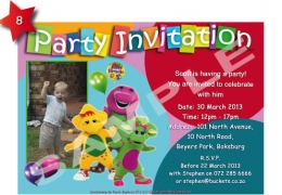 Party Buckets by Magda supplier for various party accessories in the East Rand._party invitations008