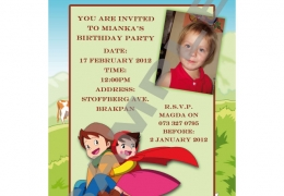 Party Buckets by Magda supplier for various party accessories in the East Rand._party invitations021