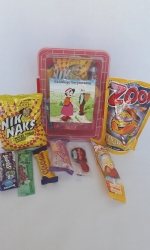 Party Buckets in the East Rand personalized party packs filled with quality sweets lunch box026
