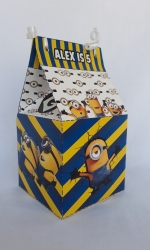 Party Buckets in the East Rand personalized party packs filled with quality sweets milk box006