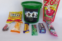 Party Buckets in the East Rand personalized party packs filled with quality sweets party buckets015