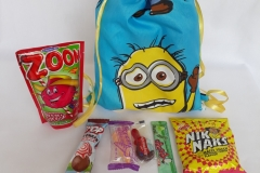Party Buckets in the East Rand personalized party packs filled with quality sweets sling bags011