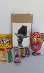Party Buckets in the East Rand personalized party packs filled with quality sweets brown paper party bags003