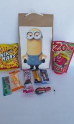 Party Buckets in the East Rand personalized party packs filled with quality sweets brown paper party bags005