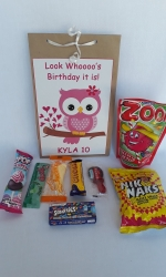 Party Buckets in the East Rand personalized party packs filled with quality sweets brown paper party bags007