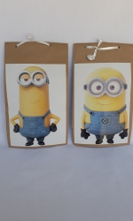 Party Buckets in the East Rand personalized party packs filled with quality sweets brown paper party bags016