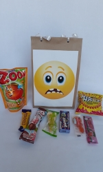 Party Buckets in the East Rand personalized party packs filled with quality sweets brown paper party bags028