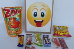 Party Buckets in the East Rand personalized party packs filled with quality sweets brown paper party bags026