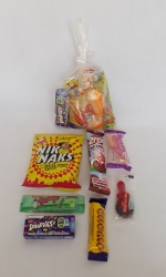 Party Buckets in the East Rand personalized party packs filled with quality sweets clear party packs005