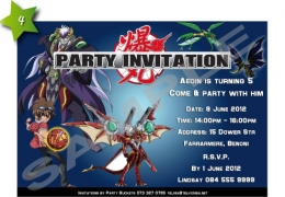 Party Buckets by Magda supplier for various party accessories in the East Rand._party invitations004