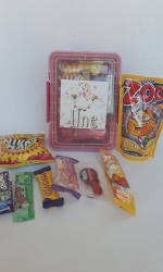 Party Buckets in the East Rand personalized party packs filled with quality sweets lunch box027
