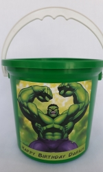Party Buckets in the East Rand personalized party packs filled with quality sweets party buckets024