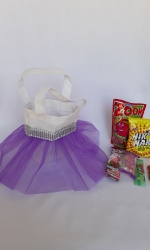 Party Buckets in the East Rand personalized party packs filled with quality sweets tutu bags011